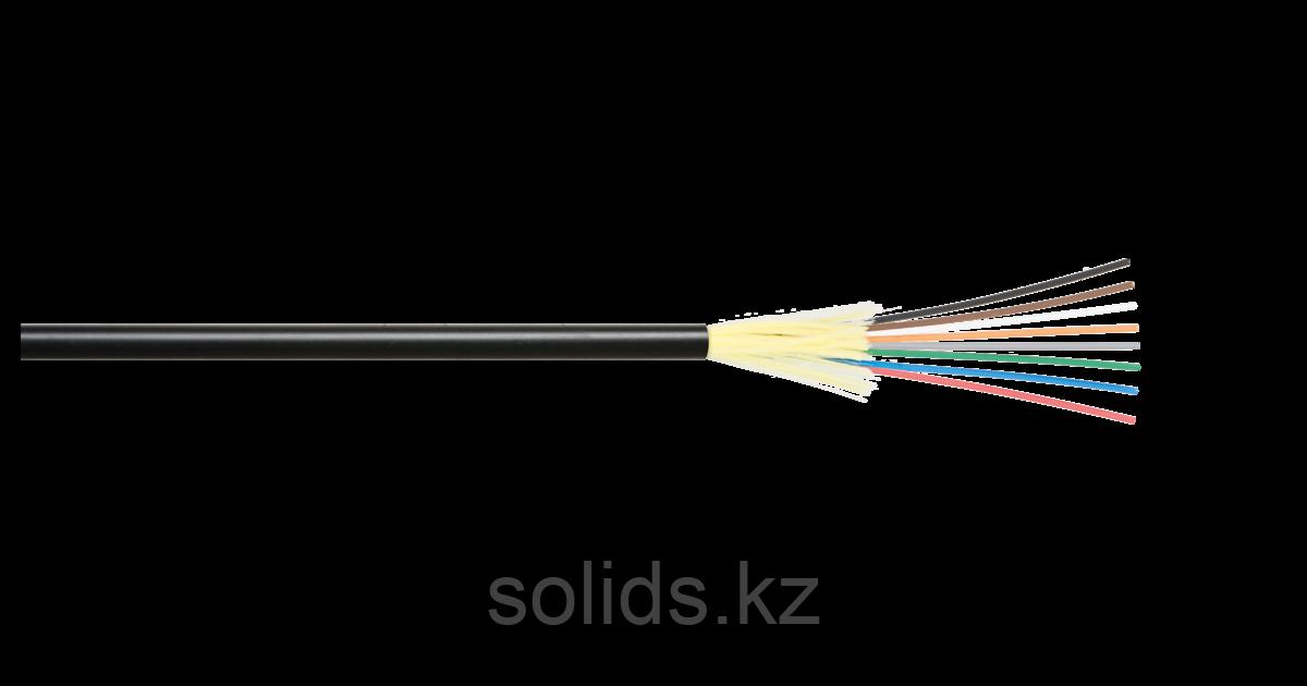 Кабель оптический 12 волокон MM 50/125 OM3 внутр./внеш. распределительный LSZH черный
