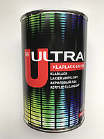 Двухкомпонентный бесцветный акриловый лак ULTRA KLARLACK 600 HS