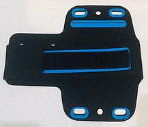 Водонепроницаемый чехол сумка для телефона (цвет синий), фото 3