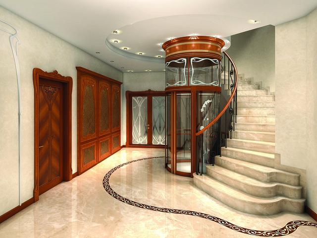 Лестница и пол