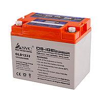 Гелевая аккумуляторная батарея SVC GLD1233 12В 33Ач, Размер в мм.:195*132*168, фото 1