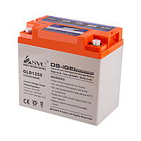 Гелевая аккумуляторная батарея SVC GLD1255 12В 55Ач, Размер в мм.:228*137*214, фото 1