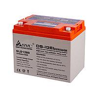 Гелевая аккумуляторная батарея SVC GLD1280 12В 80Ач, Размер в мм.:260*168*219, фото 1