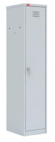 Шкаф для одежды односекционный с перегородкой (400х500х1860) арт. ШРМ21
