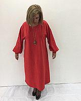 Платье дизайнерское с дутыми рукавами, фото 1