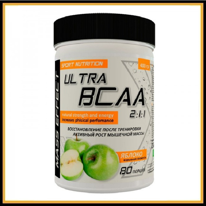 MASS EFFECT Ultra BCAA 2:1:1 (Киви) 200 гр