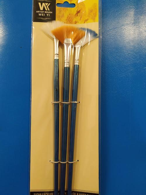 Набор кистей  3 шт Royal-Art Brushes синтетика, Алматы
