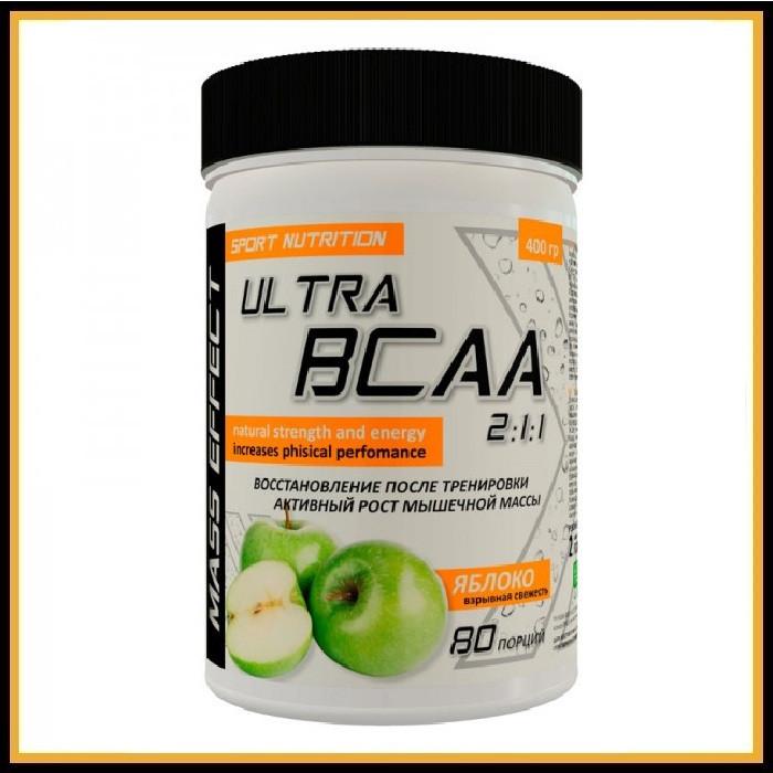 MASS EFFECT Ultra BCAA 2:1:1 (яблоко) 200 гр