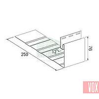 Приоконная планка большая VOX SV-20 (кремовая), фото 2