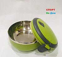 Ланч бокс для еды термос 700 мл зеленого цвета