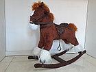 Большая музыкальная лошадка-качалка, фото 3