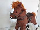 Большая музыкальная лошадка-качалка, фото 4