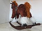 Большая музыкальная лошадка-качалка, фото 7