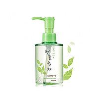 Welcos Green Tea Deep Cleansing Oil Гидрофильное масло с экстрактом зеленого чая 170 мл