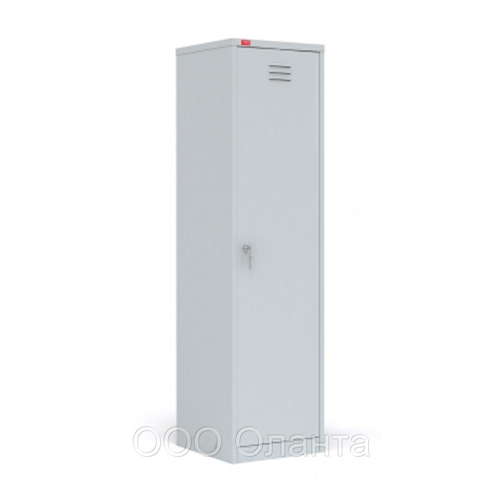 Шкаф для одежды и инвентаря односекционный (500х500х1860) арт. ШРМ/АК