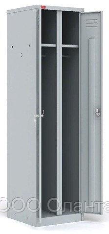 Шкаф для одежды двухсекционный (500х500х1860) арт. ШРМ/АК