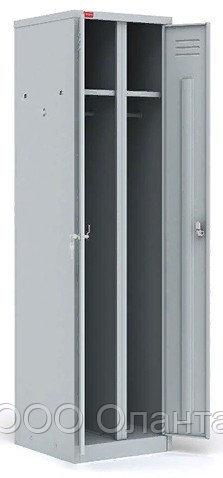 Шкаф для одежды двухсекционный (800х500х1860) арт. ШРМ/АК