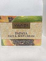 Крем для лица и тела Папайя Ваади   Vaadi Papaya Face and Body Cream