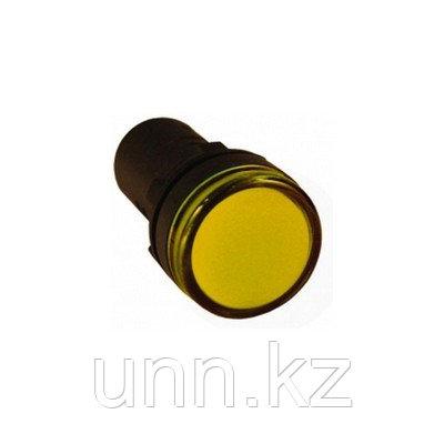 Лампа AD22DS(LED)матрица d22мм желтый 230В ИЭК, фото 2