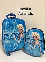 Детский дорожный чемодан на 4-х колеса,для девочек с 4-х до 7-и лет.44-30-21., фото 1