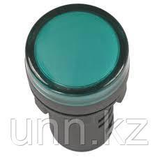 Лампа AD22DS(LED)матрица d22мм зеленый 230в ИЭК, фото 2