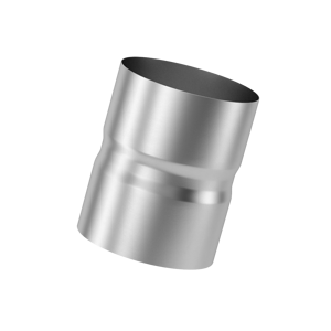 Муфта для дымохода (430, t0.5) D130 L110(Раструб)