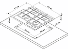 Варочная поверхность De Luxe GG4_750229F ТС-038S, фото 2