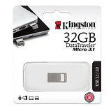 Kingston DTMC3/32GB USB-накопитель 32GB USB 3.0, металл, фото 2