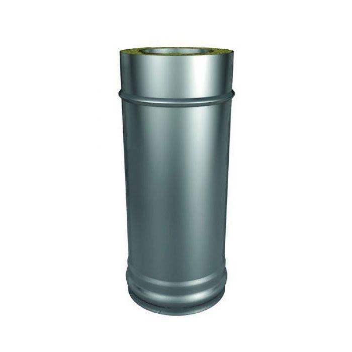 Труба Термо (430, t0.5 / ОЦ. t0.5) d130 / D200 L1000 (РАСТРУБ.)