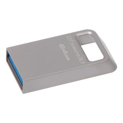 Kingston DTMC3/64GB USB-накопитель 64GB USB 3.0, металл