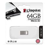 Kingston DTMC3/64GB USB-накопитель 64GB USB 3.0, металл, фото 2