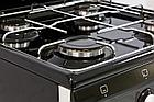 Газовая плита De Luxe 5040.36г(щ) черная, фото 3