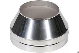 Окончание коническое Термо(430, t0.5/0Ц,t0.5) d100/D200 L200(Раструб,Холодный)