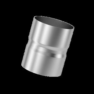 Муфта для дымохода (430, t0.5) D100 L110(Раструб)