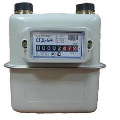 Газовый счетчик объемный диафрагменный Счетприбор СГД G4 левый (М30*2)