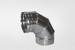 Отвод Моно (430, t0.5) 90º, d120 (Раструб)