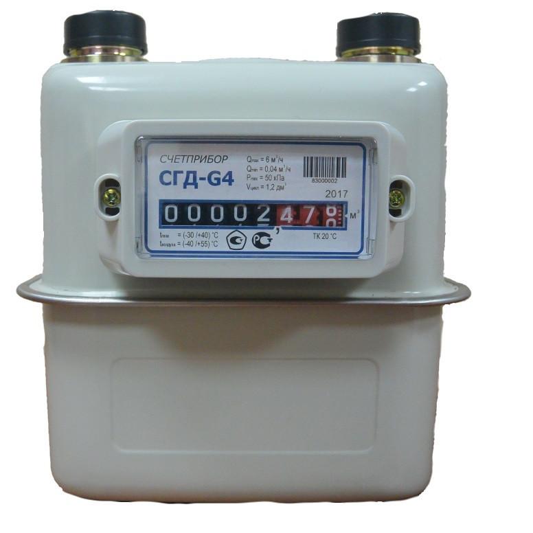 Счетчик газа СГД G4 правый ТК