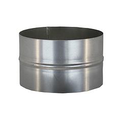 Ниппель для дымохода (430, t0.5) d120 L110(раструб)