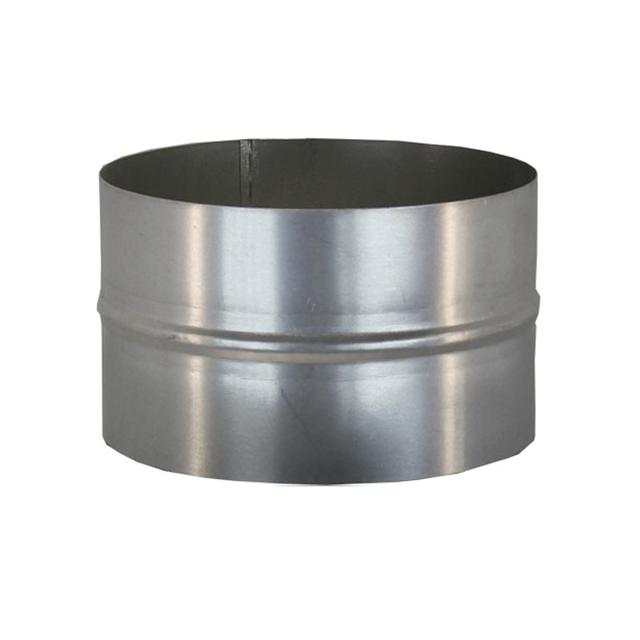 Ниппель для дымохода (430, t0.5) d130 L110(раструб)
