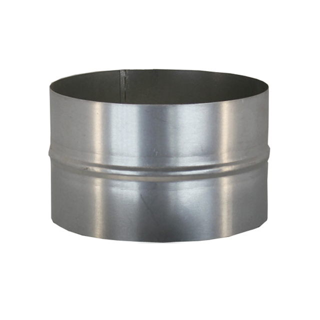 Ниппель для дымохода (430, t0.5) d150 L110(раструб)