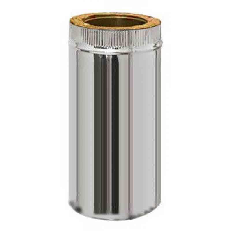 Труба Термо (430, t0,5 / 430, t0,5) d130 / D200 L500 (РАСТРУБ.)