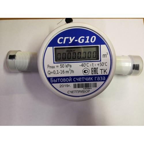 Газовый счетчик ультразвуковой Счетприбор СГУ-G10