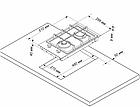 Газовая варочная поверхность DeLuxe GG2_400215F-002, фото 2