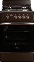Плита газовая бытовая GRETA тип 1470 GG 5070 MF 23(B) 12 коричневая