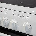 Электрическая плита DE LUXE 506004.04эс, стеклокерамика, белый, фото 3