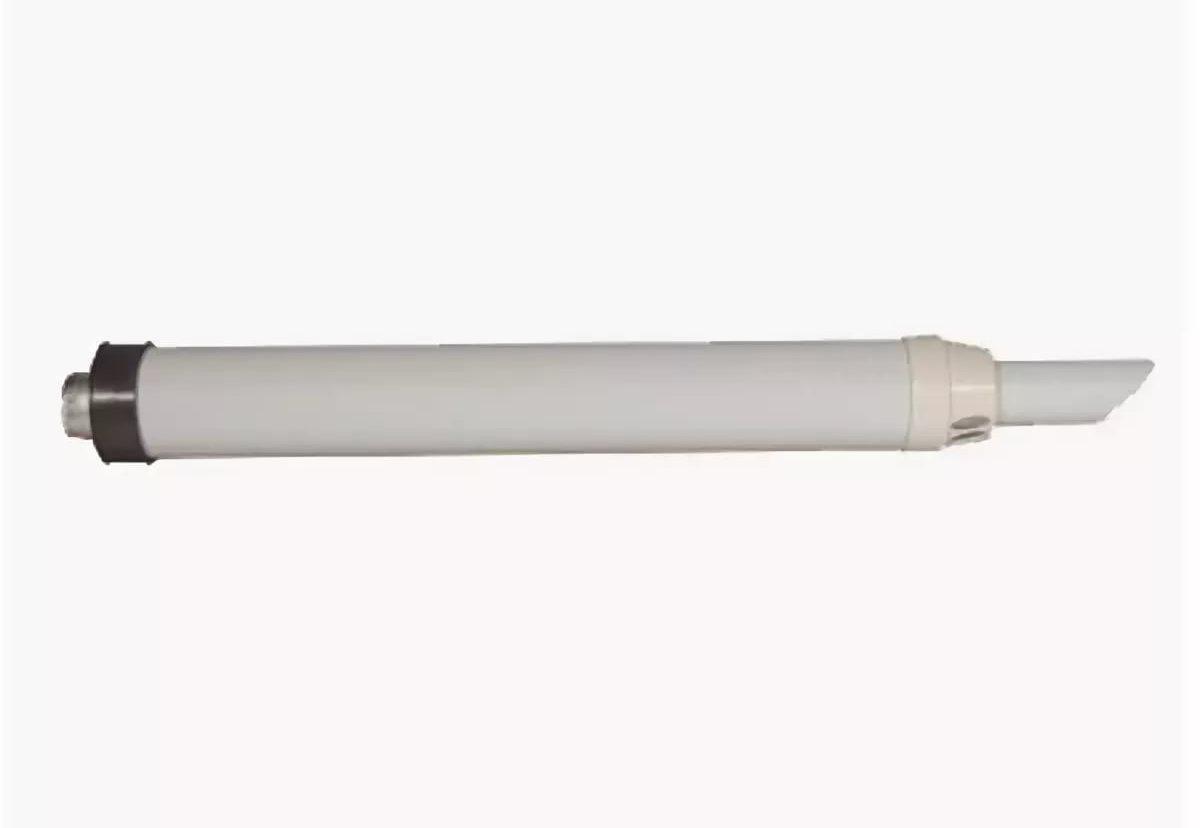 Труба коаксиальная 60/100 L 1000 (универсальная ) с антиоблед. наконечником KRATS