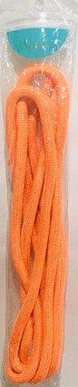 Скакалка гимнастическая оранжевая (однотонная, 3 метра), фото 2