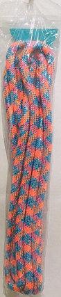 Скакалка гимнастическая 3 метра (голубой, розовый, оранжевый), фото 2