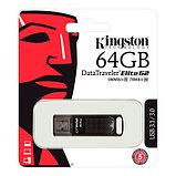 Kingston DTEG2/64GB USB-накопитель 64GB USB 3.1/3.0 DT Elite G2 (metal) 180MB/s read, 70MB/s write, фото 2