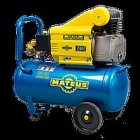 Компрессор (коаксиальный, масляный) «Mateus» MS03204 (3.0 HP). Мощность: 2.2 кВт.